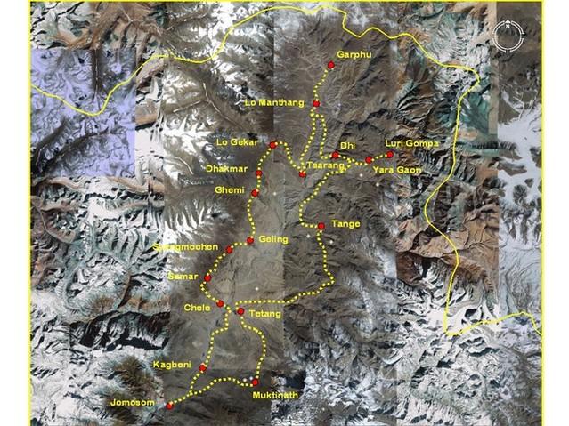 nepal - mustang - website di franco fochesato