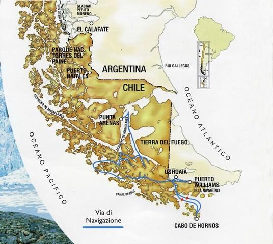 Patagonia Cartina Geografica.Patagonia E Terra Del Fuoco Website Di Franco Fochesato